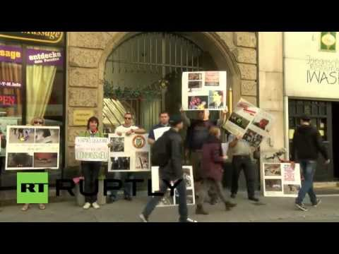 Germany: Police fail to stop Odessa massacre protest in Frankfurt