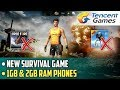 New Survival Game for 1gb and 2gb Ram Phones | Code Z Game Review