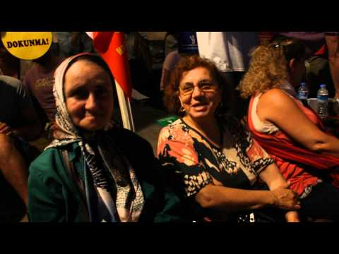 Taksim Gezi Parkı foto röportajı