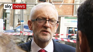 Jeremy Corbyn casts doubt on PM's Brexit deal