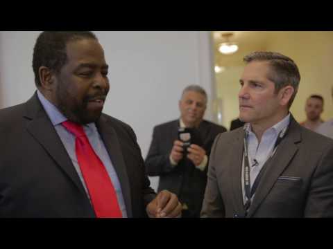 Les Brown Visits Grant Cardone's Office