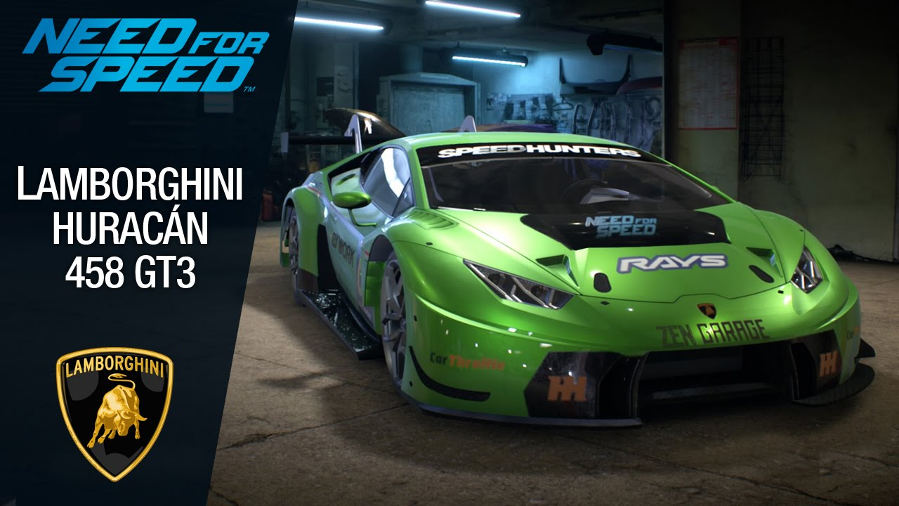 need for speed 2015 lamborghini hurac n 458 gt3 youtube. Black Bedroom Furniture Sets. Home Design Ideas