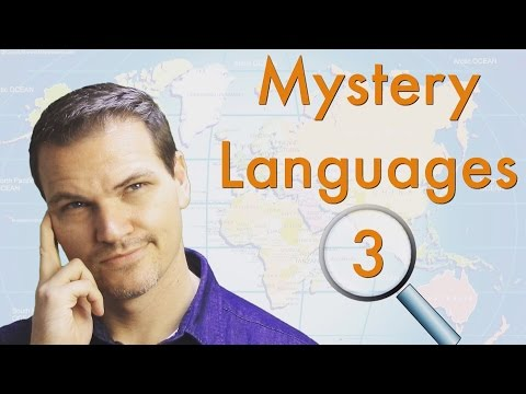 Mystery Languages 3 - Can You Guess These Languages? (PLEASE READ THE DESCRIPTION)