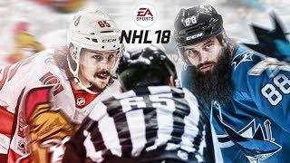 WHO MAKES A BETTER FORWARD? KARLSSON vs BURNS - NHL 18