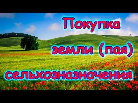 Покупка земли сельхозназначения (пай) и оформление в собственность. (01.18г.) Семья Бровченко.