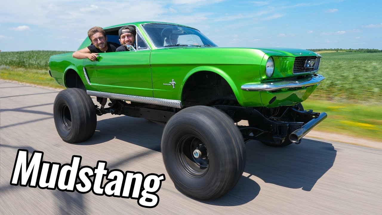 I Bought a Lifted Mustang for Mudding