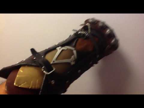 Assassins Creed Syndicate vambrace and real metal otf hidden blade