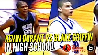 Kevin Durant vs Blake Griffin IN HIGH SCHOOL Highlights! Ty Lawson & Sam Bradford Too!