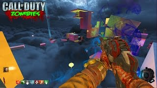 INSANE PARKOUR ZOMBIES FREERUN MAP - BLACK OPS 3 CUSTOM ZOMBIES GAMEPLAY! (BO3 Zombies)