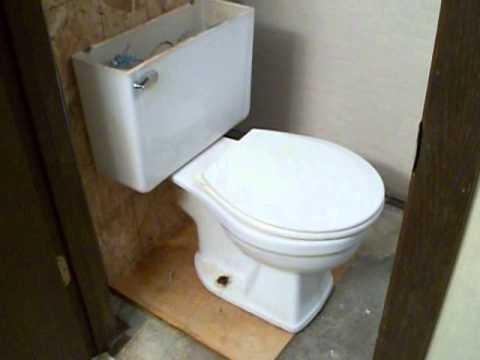 Plumbing Toilet Replacement 16 Rough In Part 1