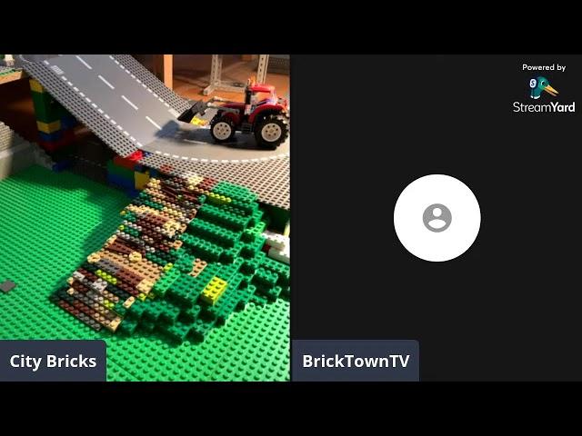 Lego Stadt Livestream mit Gästen