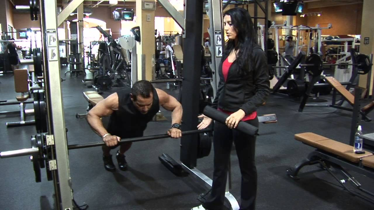 smith workout machine