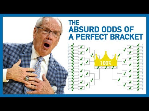 The Absurd Odds Of Picking A Perfect NCAA Tournament Bracket