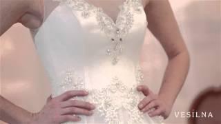 Свадебное платье 2016 года от VESILNA™ модель 3087