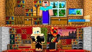 I Spent 100 Days in Noob1234's Minecraft House! *he had no idea*