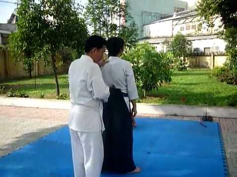 Tập huấn tự vệ đoàn viên - Phần 3/6 - Aikido Meidokan Dojo 合気道明道館道場
