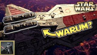 Star Wars: Warum Venator Sternenzerstörer 2 Brücken hatten [deutsch]
