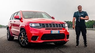THE ANGRY 710BHP JEEP *TRACKHAWK*