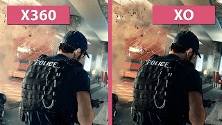 Battlefield Hardline – Xbox 360 vs. Xbox One Graphics Comparison [60fps][FullHD]
