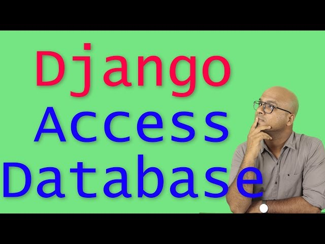 #20 Django tutorials | Add and Fetch data from Database