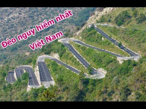 Những con đèo nguy hiểm nhất Việt Nam