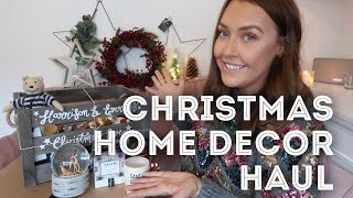 CHRISTMAS HOME DECOR HAUL | LIZA PRIDEAUX COLLAB