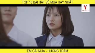 Top 10 Bài hát về mưa hay nhất