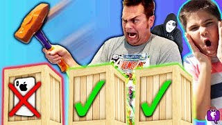 DON'T SMASH WRONG MYSTERY BOX! D.GOLD + Training Challenge by HobbyKidsTV