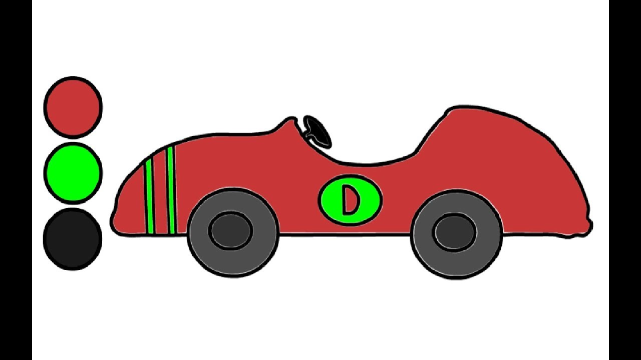 Auto Zeichnen und Malen - Malvorlagen für Kinder