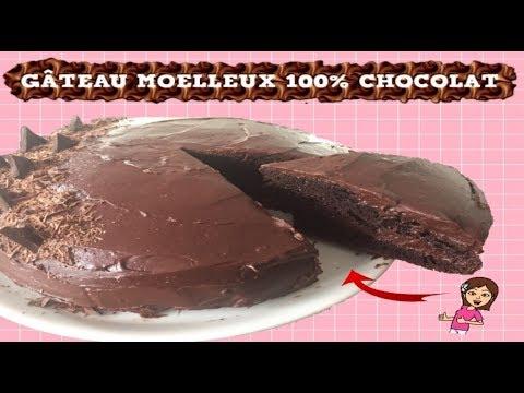 ♡-gateau-moelleux-100-%-chocolat---ganache-au-chocolat-a-tomber-par-terre-!-♡