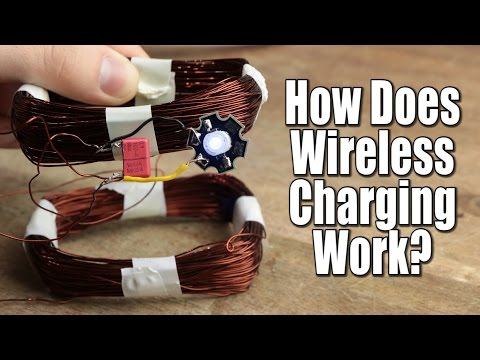 How Does Wireless Charging Work? || Crude Wireless Energy Transfer Circuit