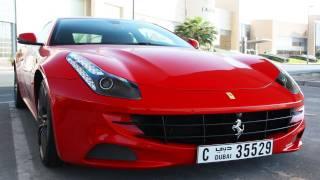 Ferrari FF Ride - Tunnels, Accelerations & More