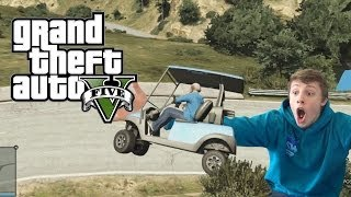 W2S Plays GTA 5 - CADDIES ARE FAST!! - GTA 5 Funny Moments