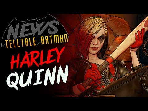 Batman: The Enemy Within Harley Quinn First Look!