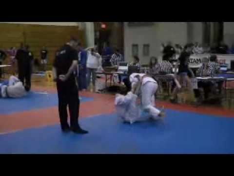 Reed's 1st match Omaha Jiu Jitsu tourney
