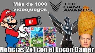 Lista de los nominados de los The Game Awards 2018 | Switch ya cuenta con 1000 videojuegos