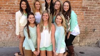 ♡ U of A Panhellenic Recruitment 2014: What To Wear ♡