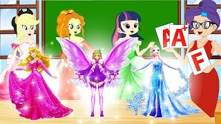 Equestria Girls la Princesa Twilight Sparkle y sus Amigos de la Animación de la Colección Episodio # 3