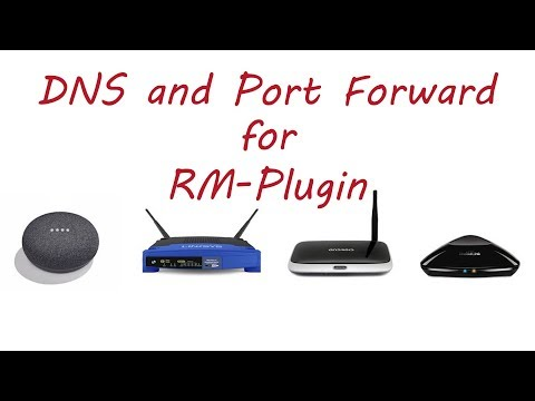 RM plugin DNS and port forwarding to control Broadlink from