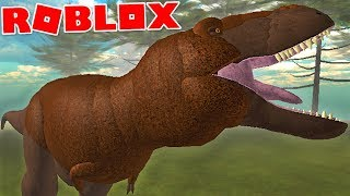 "Primal Life (Roblox)-Life of T-Rex, hunting herbivores ""Tyrannosaurus Rex""-(#12) (EN-BR)"