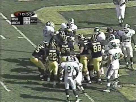 1998: Michigan 29 MSU 17 (2/2)