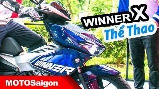 Giá xe Honda Winner X thể thao & Camo soi chi tiết có gì mới?