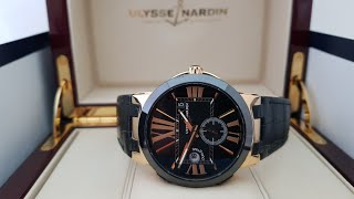 Обзор часов Ulysse Nardin Executive Dual Time 246-00/42