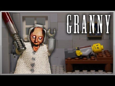 LEGO Мультфильм Granny / Полная версия 1-4 / LEGO Stop Motion
