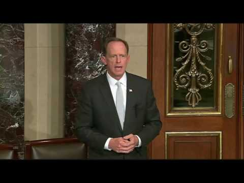 Sen. Toomey Urges Senate to Work Together to Protect Americans