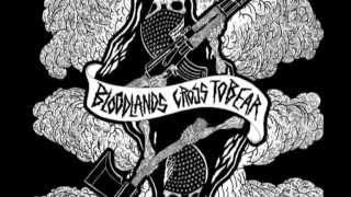 "BLOODLANDS / CROSS TO BEAR split 7"" out July 15, 2015"