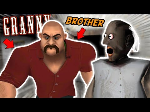 Granny's Older Brother IS SUPER CREEPY!!! | Granny The Mobile Horror Game (Knock Offs/Rip Offs)
