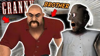 Granny's Older Brother COMES TO VISIT!!!! | Granny The Mobile Horror Game (Knock Offs/Rip Offs)