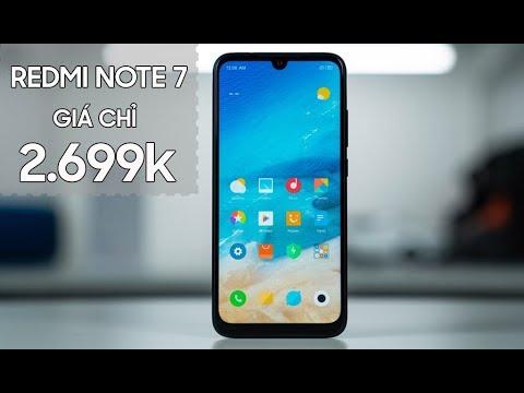 Tậu Redmi Note 7 chỉ 2.699K – Những Lý do nên mua ngay bây giờ