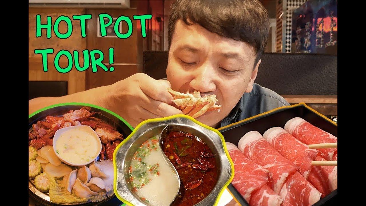 Download All You Can Eat STEAMED Hot Pot! New York Hot Pot Buffet Tour Part 2